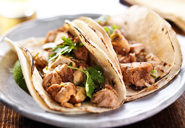 mexican chicken tacos recipe